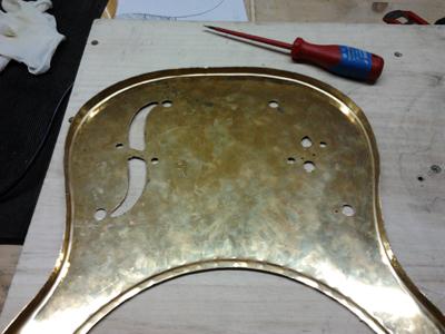 guitar f hole template - smacoustics homemade resonator guitar